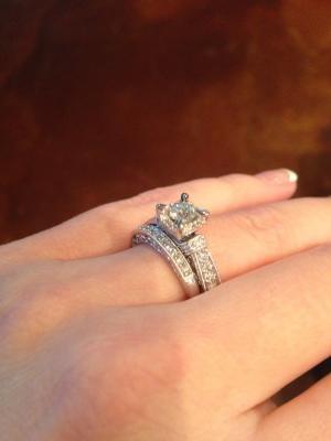 1 1 5 Ct T W Diamond Vintage Style Bridal Set In 14k White Gold