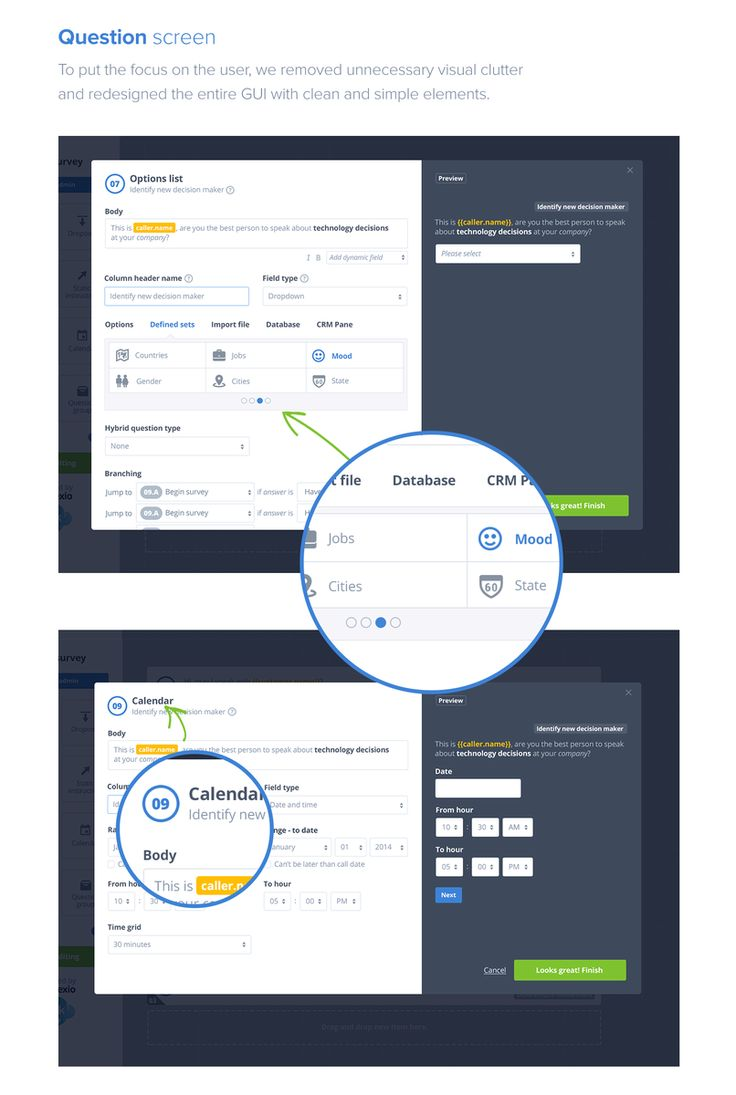 Connexio Talk is a product of the USA-based team, Connexio Labs. This outbound calling platform empowers Sales teams to do their best by connecting with the most promising opportunities in just one click. Our mission at Netguru was to design and implement the Call Guide Builder & Question modules to give this single page app a fresh look. https://netguru.co/blog/connexio-labs-design-netguru