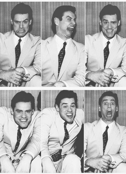 the many faces of jim carrey