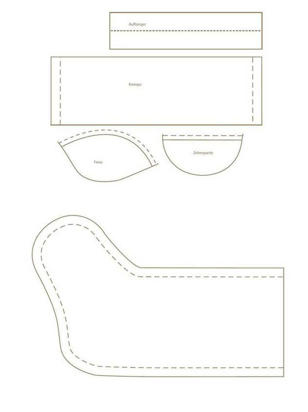 9 besten vorlage nikolausstiefel bilder auf pinterest. Black Bedroom Furniture Sets. Home Design Ideas