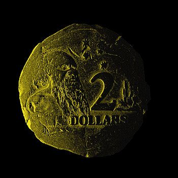 2 Dollars by Mark Blauhoefer