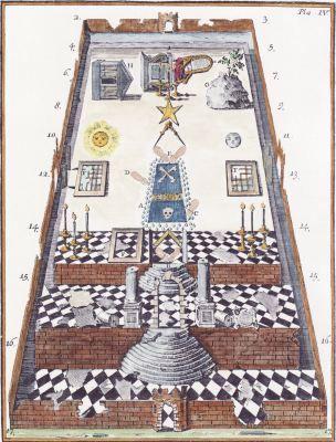 Adam McLean's Art Weblog. Temple of solomon.