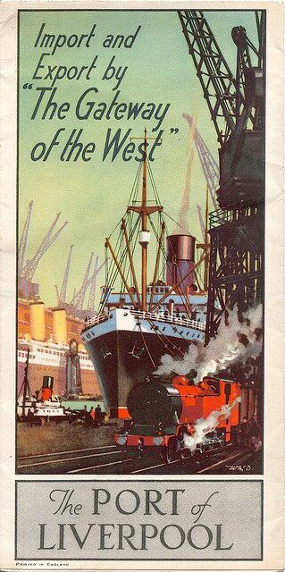 Import and Export 'The Gateway of the West' . The Port of Liverpool, repinned by www.jane-davis.co.uk
