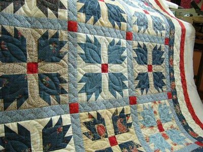 Bear Paw quilting