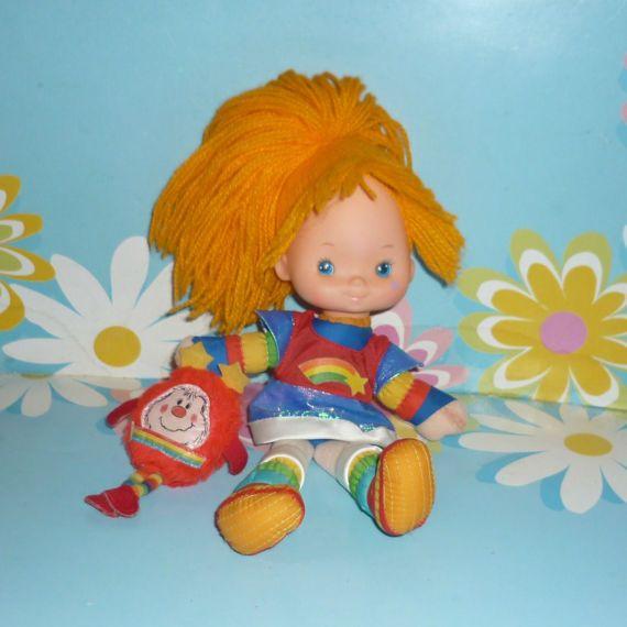 1980's Mattel Rainbow Brite  Nine Inch by DolllightedToMeetYou  #dolllighted #gotvintage #unitedsellers