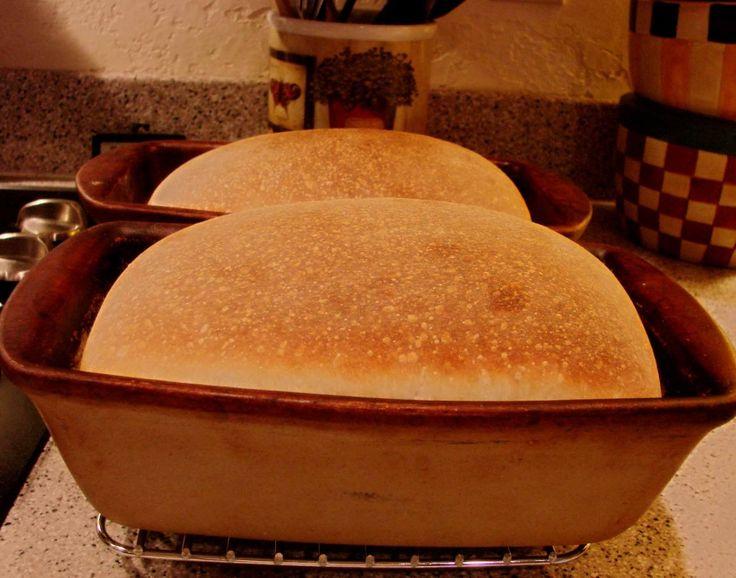 Potato Flake Sourdough Bread