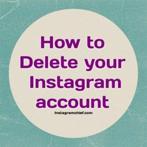 How to Temporarily Disable Or Delete your INSTAGRAM Account?