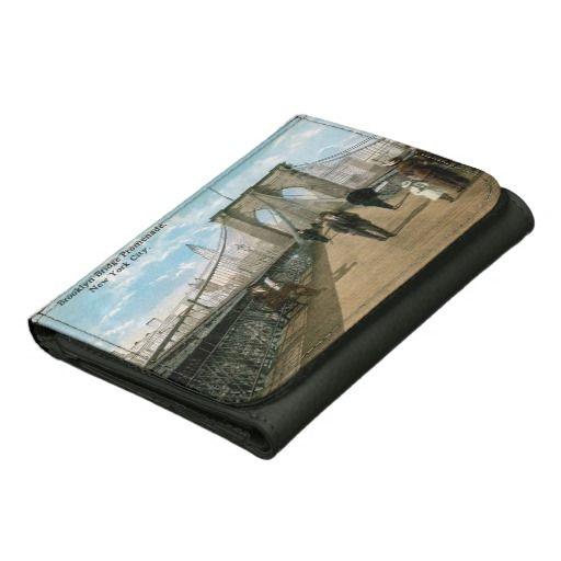 Brooklyn Bridge Promenade Leather Wallet