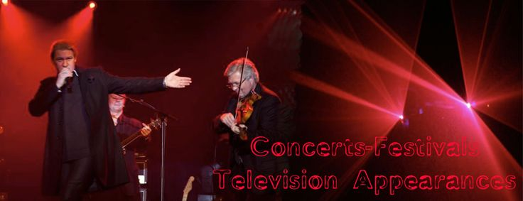 Picture of Johnny Logan and David Glowasky from Flamin' Fiddler and Friends website. http://flaminfiddler.com made by Localmobileze http://localmobileze.com