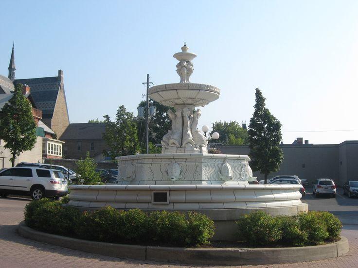 Downtown Brockville, Ontario, Canada