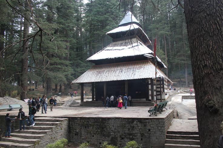 Hidimba Devi Temple dedicated to goddess Hidimba from the Mahabharata mythology.