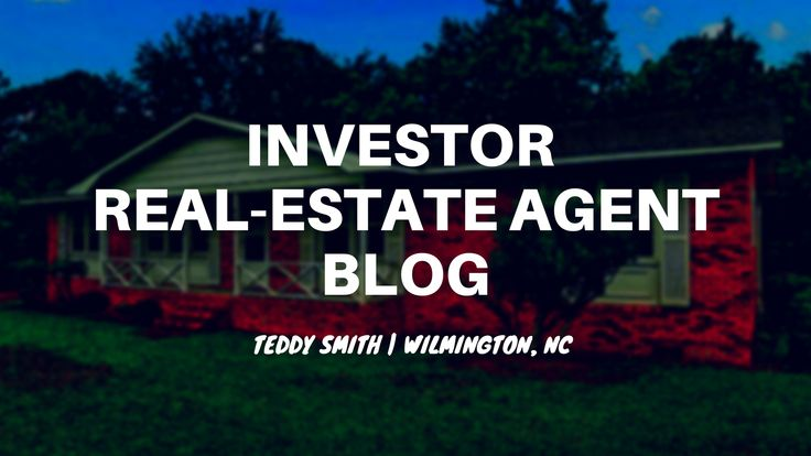 """This blog is for real-estate agents, investors, developers and/or anyone that is interested in real-estate. This blog is geared toward """"investor real-estate agents (aka """"real estate agents that are investors themselves""""), but mainly it's a blog where I try to publish entertaining & informative content. The ULTIMATE Guide For Real-Estate Investing in Wilmington, NC Financial/Cash-Flow …"""