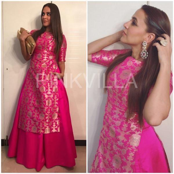Fashion Faceoff: Rani Mukerji or Neha Dhupia, who wore Raw Mango better?   PINKVILLA