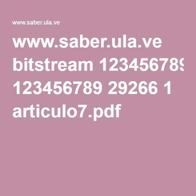 www.saber.ula.ve bitstream 123456789 29266 1 articulo7.pdf