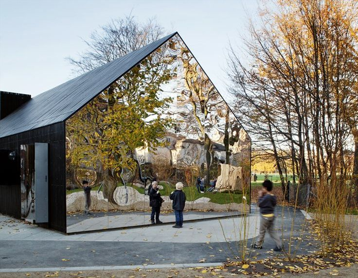 Mirrorhouse in Copenhagen