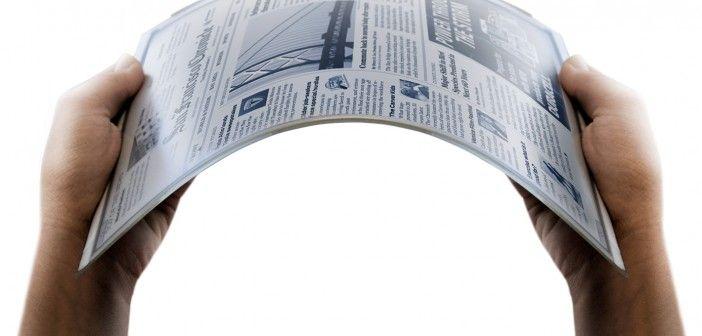 Graphene product watch: Bendable graphene E-paper