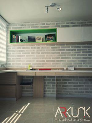Diseño de espacios - Página web de arkunik