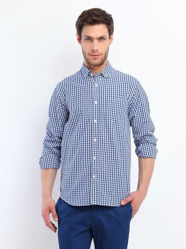 Koszula męska w kratę, Top Secret