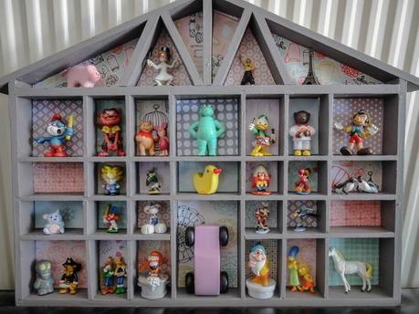 Mon DIY : J'ai customisé une petite maison étagère