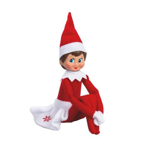 Girl Elf On Shelf | Elf on the Shelf - Girl Elf Edition with North Pole Blue Eyed Girl Elf ...