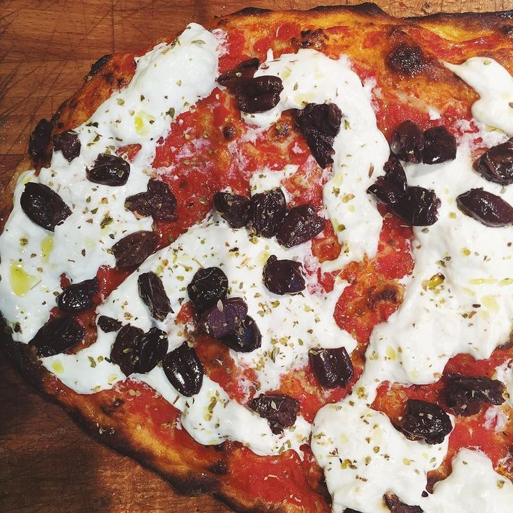 Tomato And Stracciatella Pizzas Recipes — Dishmaps