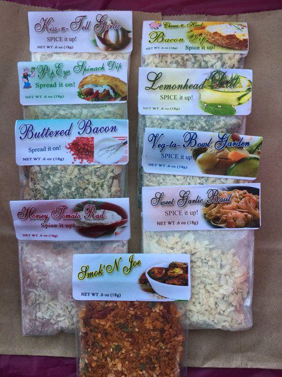 Gourmet Dip Mixes Seasonings Rubs Party Dip Mixes Dry Dip