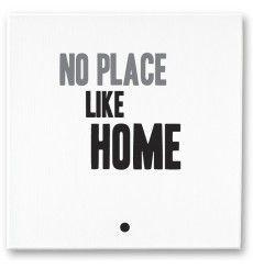 No place like home Hand-made canvass mintmouse.com
