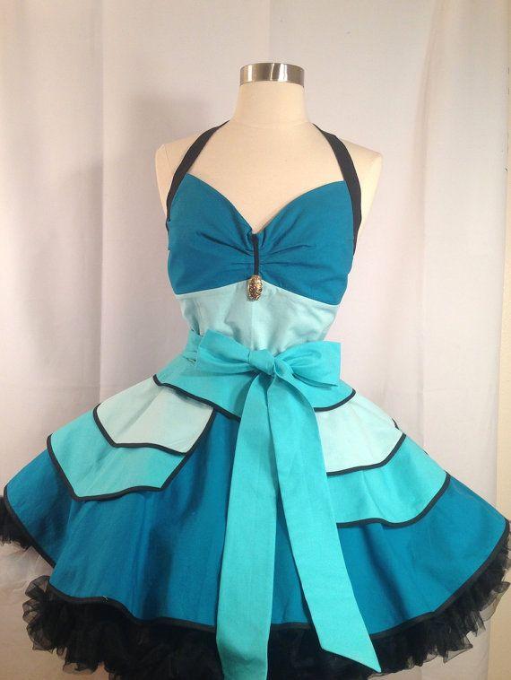 Jasmine, Arabian Princess Costume Apron, Cosplay, Fairy Tale Princess, Disneybound