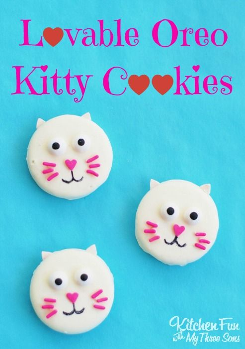 We created these Easy Valentine Treats to share with you today! These Lovable Oreo Kitty Cat Cookies will take you just minutes to make using pre-made chocolate covered Oreos & we think they turned out so cute! This is a really cuteValentine treat that the kids will have fun decorating. You could also make these...Read More »