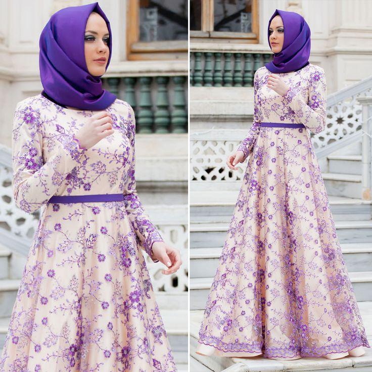 EVENING DRESS - EVENING DRESS - 4264MOR #hijab #naylavip #hijabi #hijabfashion #hijabstyle #hijabpress #muslimabaya #islamiccoat #scarf #fashion #turkishdress #clothing #eveningdresses #dailydresses #tunic #vest #skirt #hijabtrends