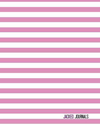 Jacked Journals: Bullet Grid Journal - Original, Striped Color - 185 Dot Grid Pages, 8 x 10 , Professionally Designed (Plum) #bulletjournal #journaling #planner #bullet #journal #junkie #grid