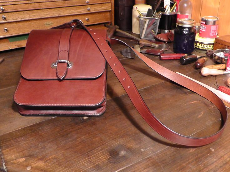 Another way of carrying your iPad, a nice messenger bag. I sell the plans to make these if you want to have a go yourself.
