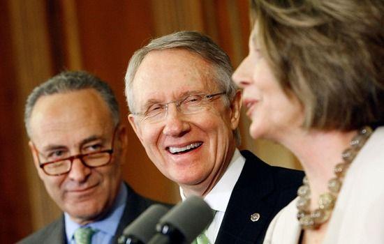 Democrats Chuck Schumer, Harry Reid and Nancy Pelosi all Support Obama's Dictatorship.