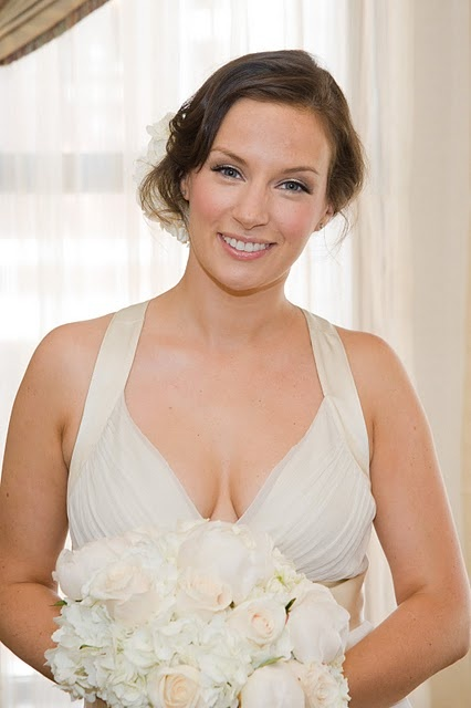 Emma's makeup is so #natural and she makes such a #beautiful #bride. Makeup by @ljonesmakeup.