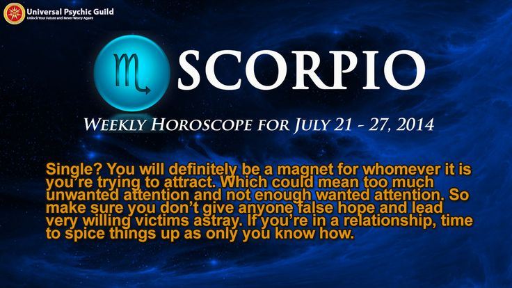 Watch Astrogirl's #WeeklyHoroscope Forecast for Zodiac Sign #Scorpio for FREE and get insights to guide you on the week ahead.