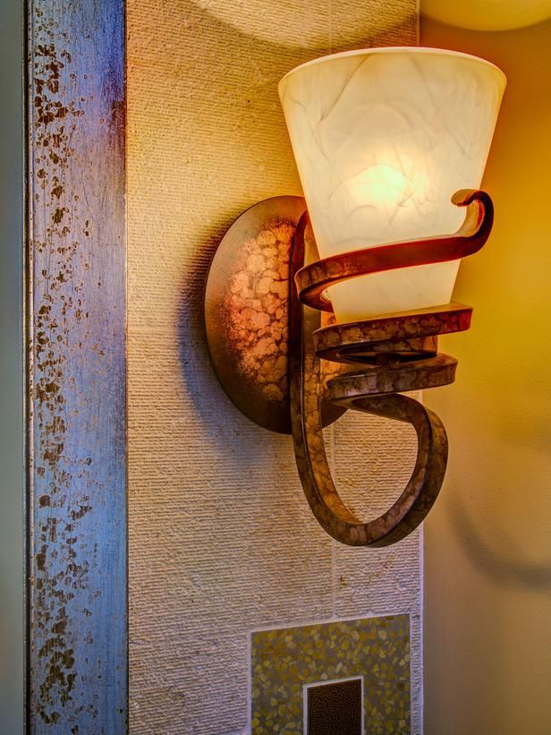 Neutral Bathroom With Asian-Inspired Bench : Designers' Portfolio : HGTV - Home & Garden Television