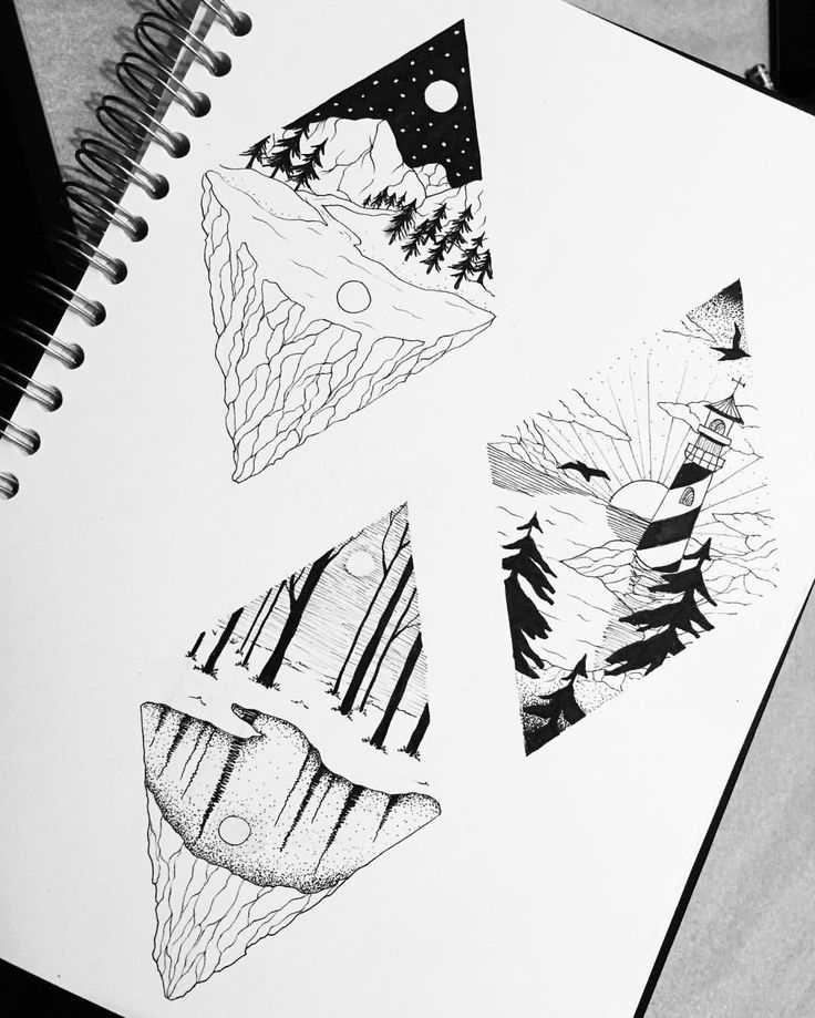 """Mi piace"": 40, commenti: 4 - Dora (@doratattoos) su Instagram: ""Landscapes 🏞 @giadjj"""