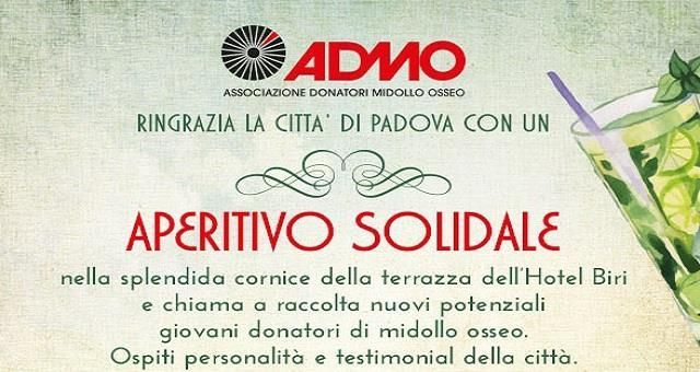 Aperitivo Solidale ADMO - BET WESTERN HOTEL Biri Padova 4 stelle