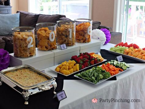 The world is your canvas, graduation party ideas, art graduation party, art party, graduation party, graduation party decorations, graduation party food, inexpensive ...