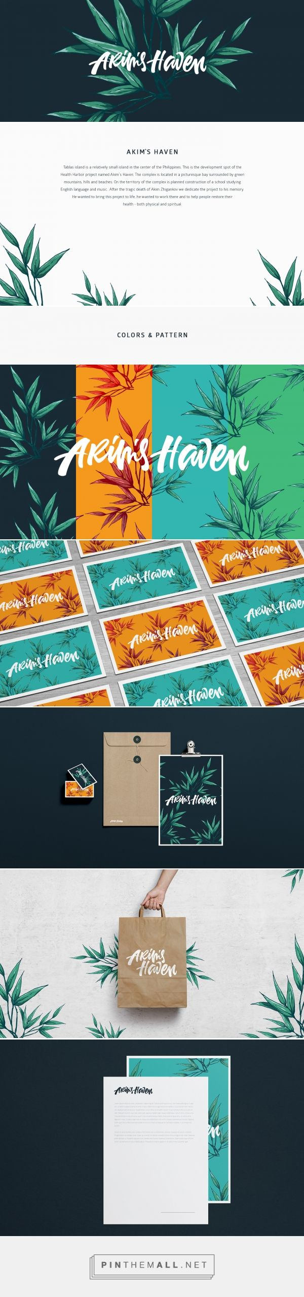 Akim`s Haven Mental and Spiritual Health Oasis Branding by Peter Zaitsev | Fivestar Branding Agency – Design and Branding Agency & Curated Inspiration Gallery