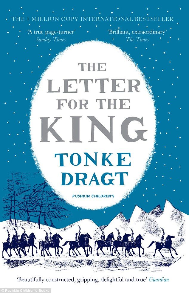 The hero of a decades-old Dutch book who's set to become the new Harry Potter after finally being translated into English. - Daily Mail, 4 november 2014  The front cover of The Letter For The King, which has finally been published in English, 50 years after it was first released