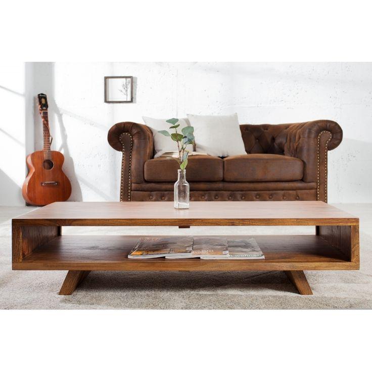 Konferenční stolek SAIGON 100cm Sheesham