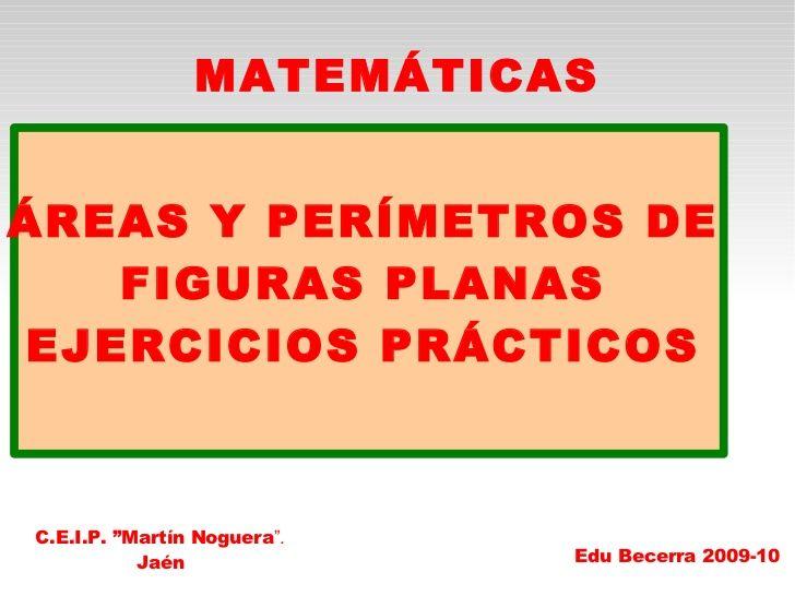 Areas y perímetros de figuras planas. Práctica                                                                                                                                                                                 Más