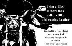 So true. It's impossible to explain to someone who just owns a bike.