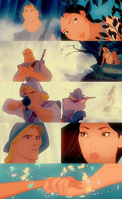 John Smith and Pocahontas... This is basically what happened. #love #Disney #Princess