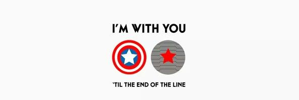 With you till the end of the line