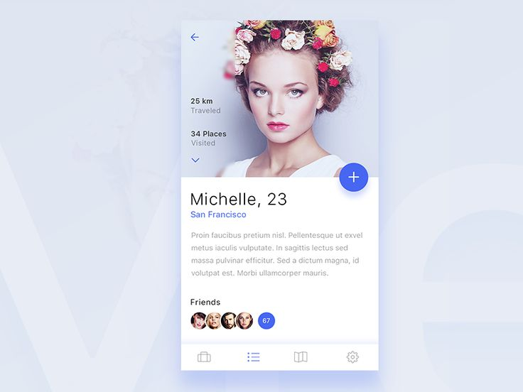 Profile screen for upcoming ios app by Stano Bagin #Design Popular #Dribbble #shots