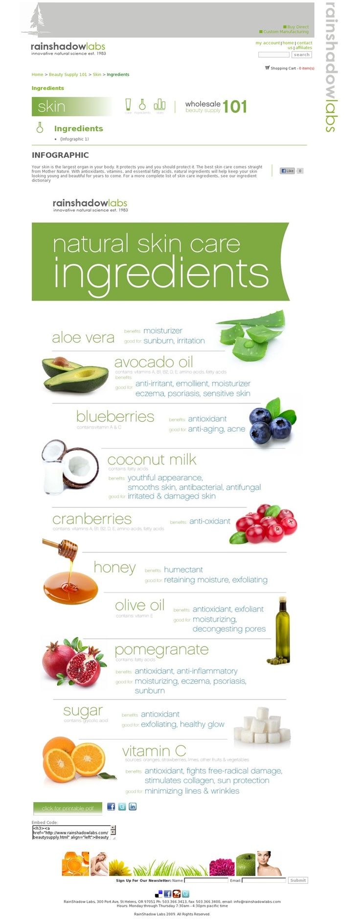 The best skin care products out there come from Mother Nature! 10 natural ways to boost your skin