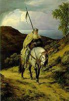 Carl Friedrich Lessing - Last Crusader