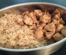 Easy Peasy Varoma Garlic & Soy Chicken and Rice